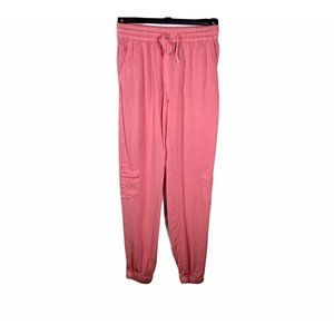 H&M Pink Casual Pants for girls 8/9